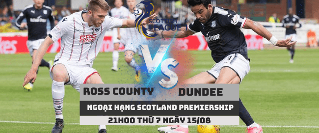 Ross County vs Dundee