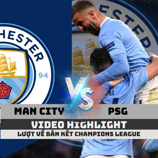 highlight man city vs psg