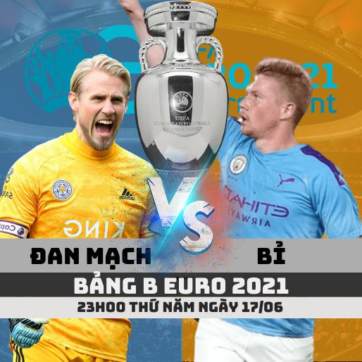 soi keo Đan Mạch vs Bỉ euro 2020