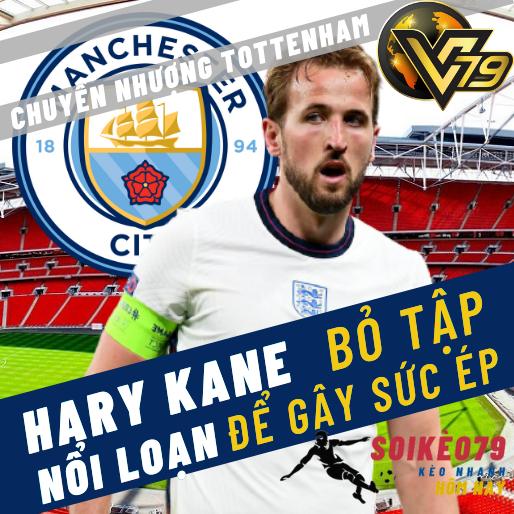 Harry Kane rời Spurs