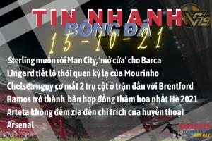 Tin nhanh bóng đá 15 10 chelsea manchester city barcelona arsenal